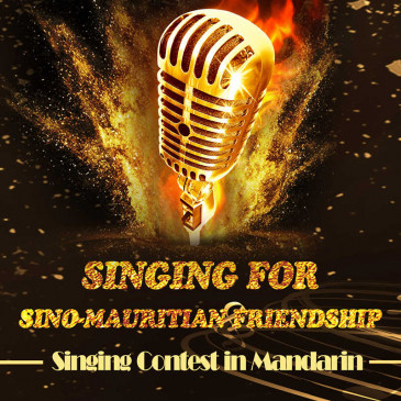 Singing for Sino-Mauritian Friendship- Singing Context in Mandarin