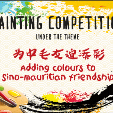 "Rules for ""Adding Colors To Sino-Mauritian Friendship"" Painting Competition"