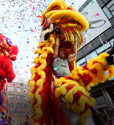 Independance day and Chinese New Year Carnival